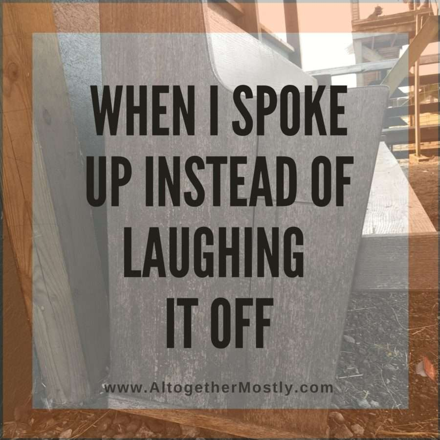When I Spoke Up