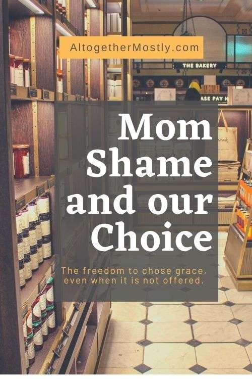 Mom-shame choice