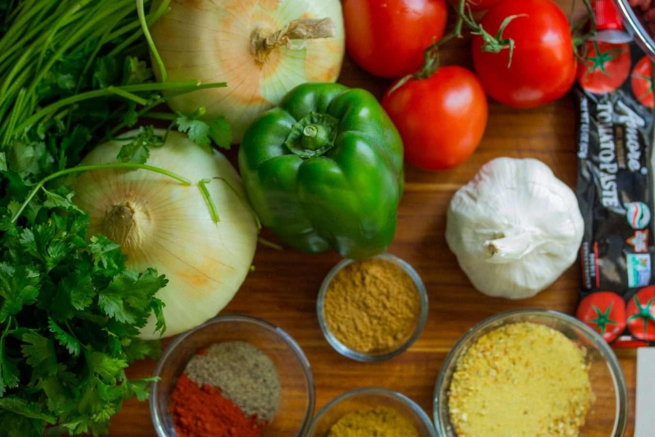 food healthy wood table taco seasoning recipe
