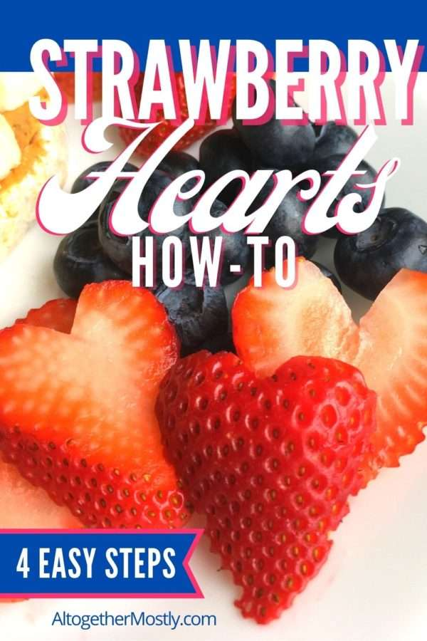 strawberry heart slices guide