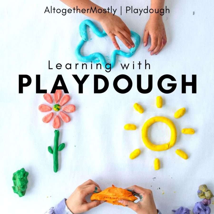 learning with playdough